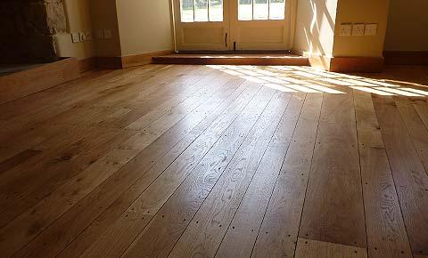 Solid oak flooring for Real solid wood flooring